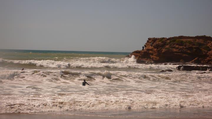 chambre d hotes sur plage de surf