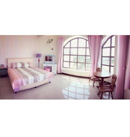 景觀雙人大套房 - Donggang Township - House