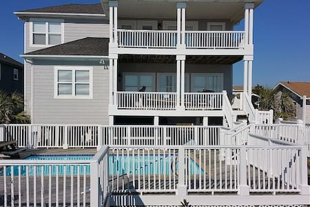 Private 8BDRM Oceanfront Retreat! - Ocean Isle Beach - 独立屋