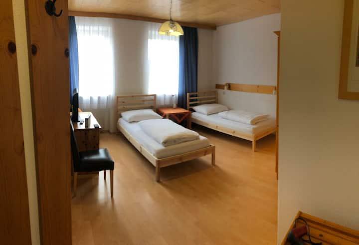 Zweibettzimmer im Zentrum von Pregarten nähe Linz