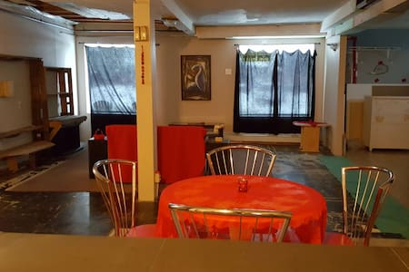 Wide Open Unfinished Studio Loft - Sudbury