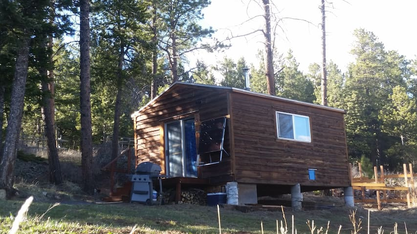 Off Grid SMT Forest Getaway Cabin Unplug & Escape!