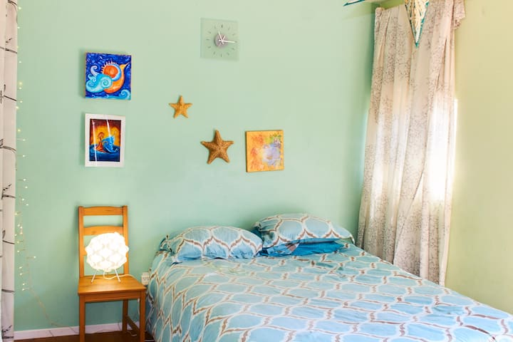 Peaceful Artsy Studio - National City - Guesthouse