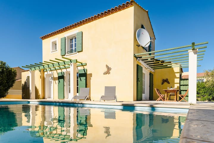 RQ VC7 - Spacious 3 bedrooms Villa with private pool - NARBONNE-PLAGE
