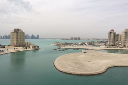 Amazing 2 bedroom apartment over looking the sea - Doha - Appartement