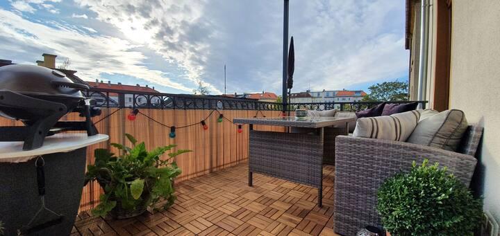 Helle großzügige Balkon Wohnung im hippen Plagwitz