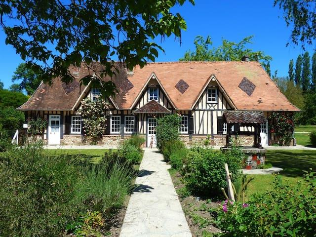 Chambre d'hôtes le Clos Sainte Hélène Suite Le Bec - Glos-sur-Risle - ที่พักพร้อมอาหารเช้า