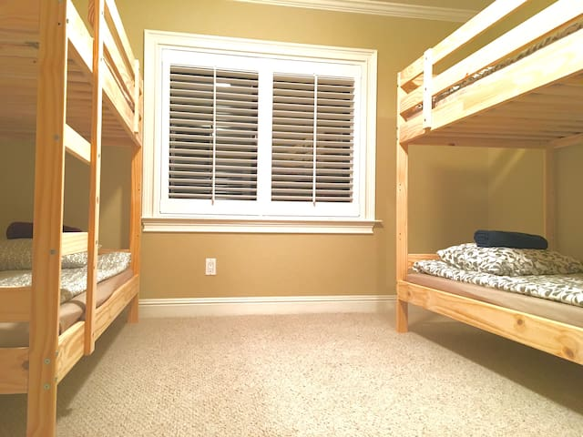 Comfy bunk bed in shared room - San Francisco - Dům