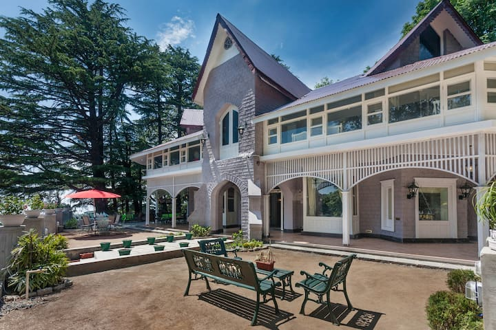 7 Bhk Heritage Villa in Dalhousie Elgin Hall