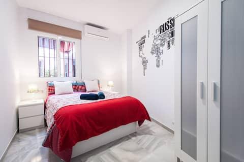 Szép Firenze szoba Sevilla City Center