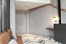 『一中漫走』全新標準雙人房~鬧中取靜優雅獨立空間●走路到一中