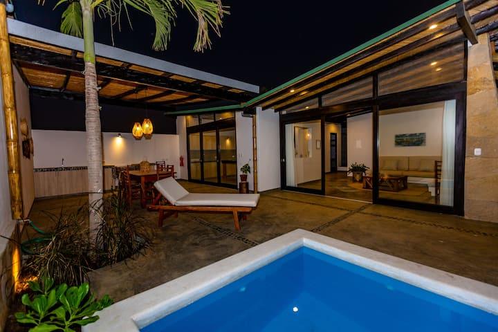 Casas Lua & Mar (Villa 1) - Vichayito - Máncora