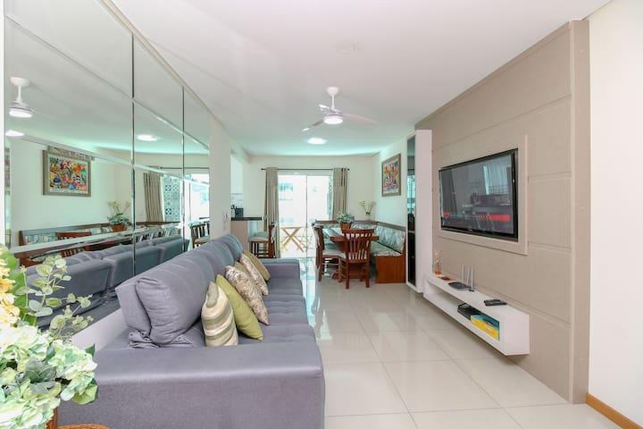 Aluguel Apartamento 2 quartos sendo 1 suíte / Bombas-SC