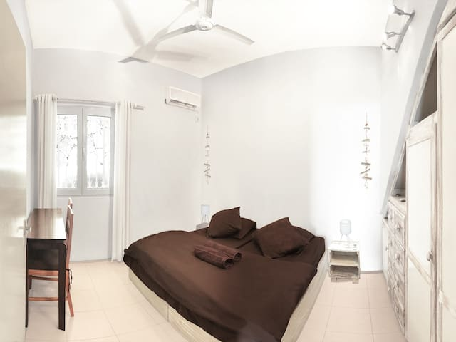 Second Bedroom with Twin beds which can be assembled or separated upon request.