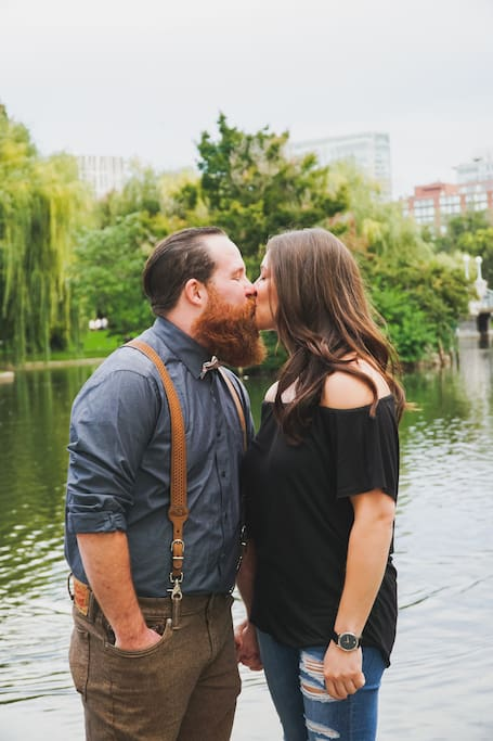 Get some cute couple pics for Instagram!