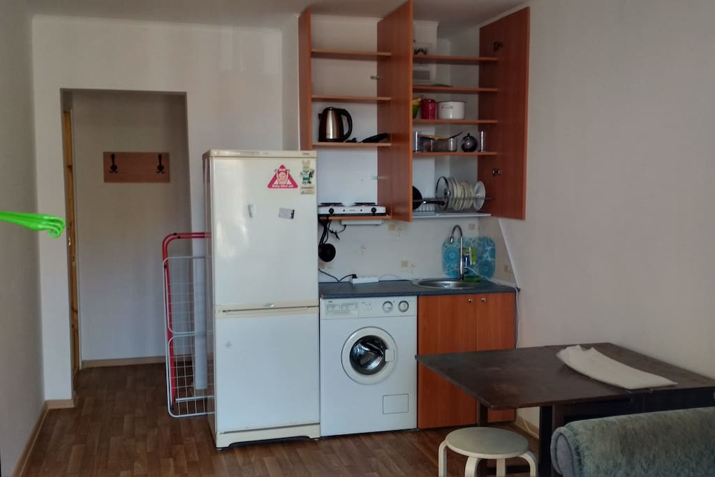 Зона кухни
