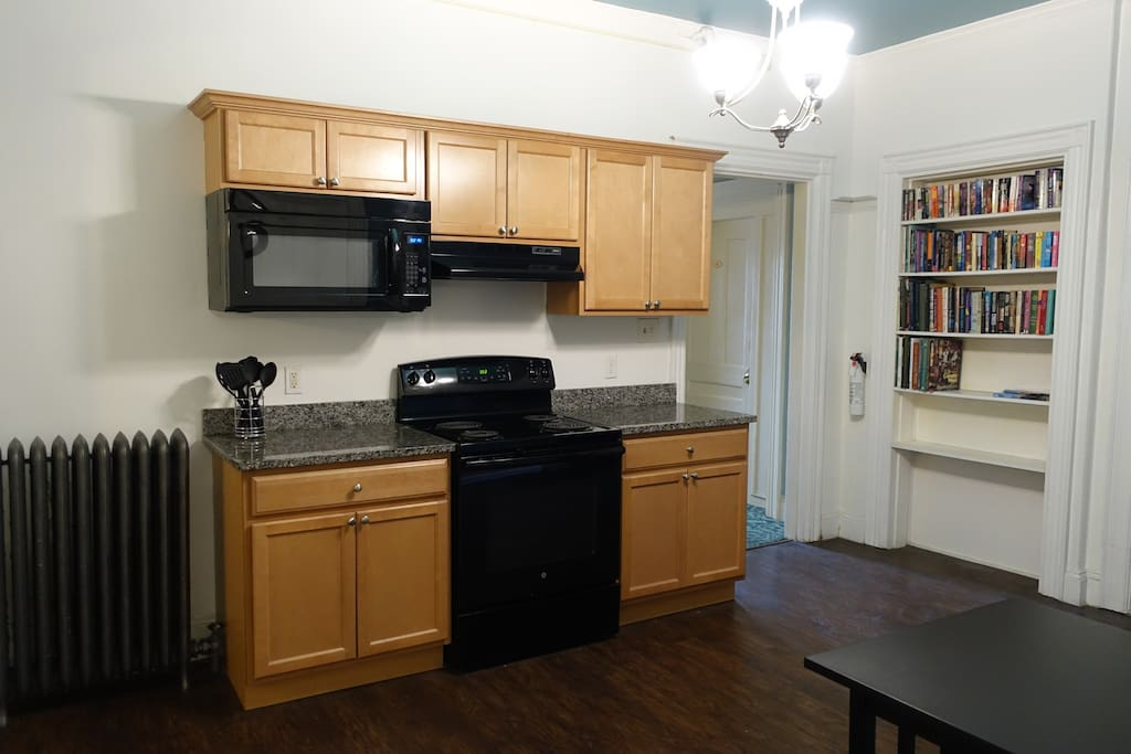 First floor shared kitchen.