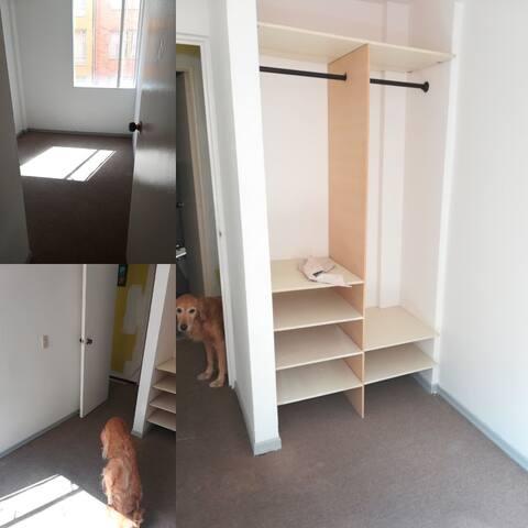 Habitación privada y tranquila.