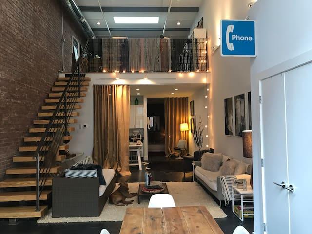Modern Beacon duplex loft