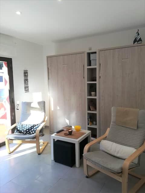 Exquisito apartamento junto a la playa de Sa Riera
