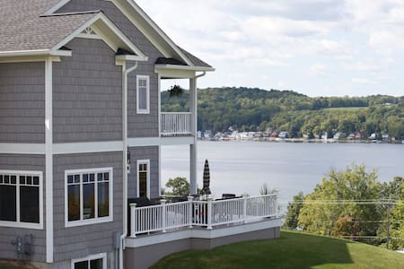 Dream Home on Conesus Lake - Bedroom 1 - Livonia