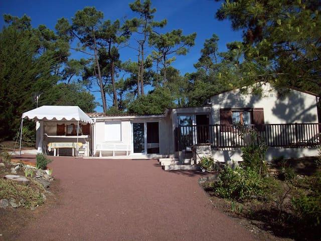 Maison très calme