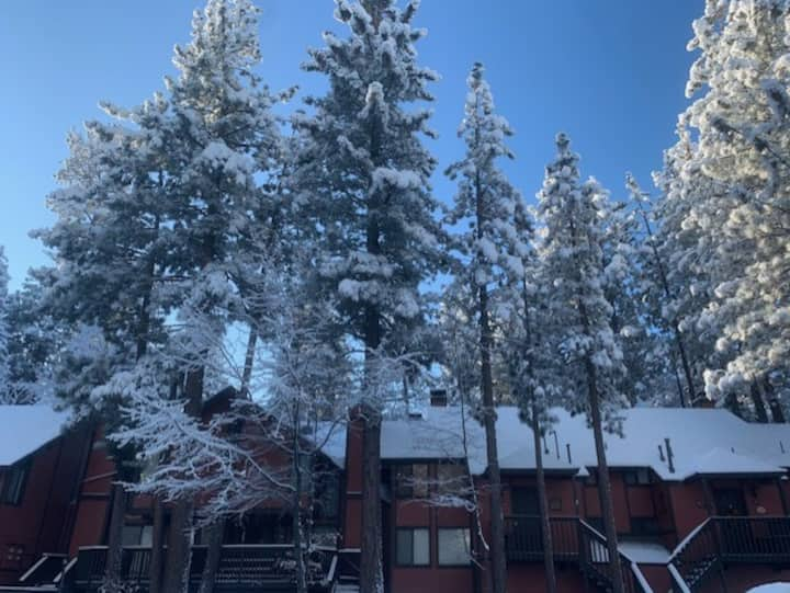 The best ski-in town home at Snow Summit.