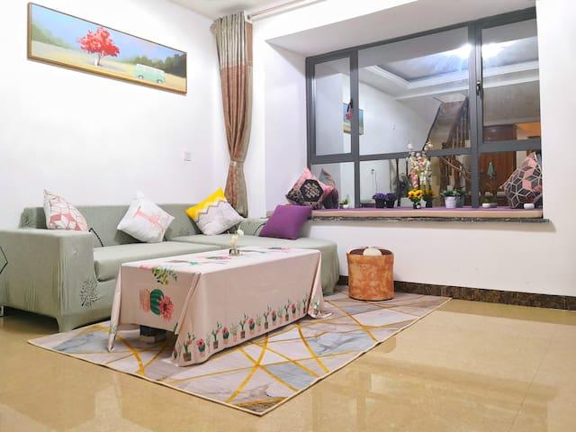 银滩侨港 来涠 超大温馨loft复式公寓 北海的另一个家