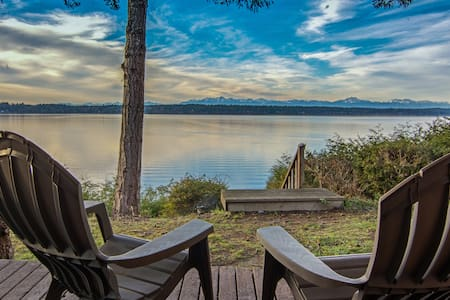 Secret Island Beachfront Escape - Lakebay