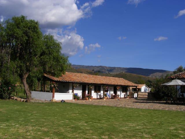 HACIENDA VERACRUZ.(URL HIDDEN) - Villa de Leyva
