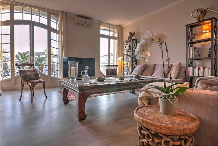 Classic  large 3 bedrooms - 5min from Palais -5M39