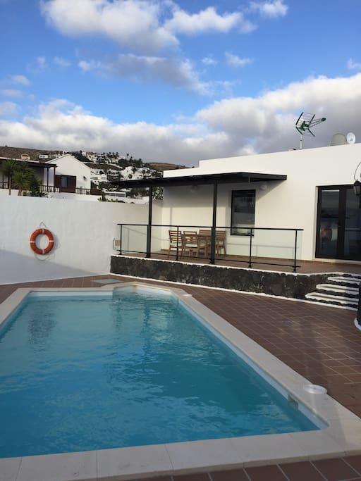 Casa con piscina lanzarote nazaret casas en alquiler en - Alquiler casas en lanzarote ...