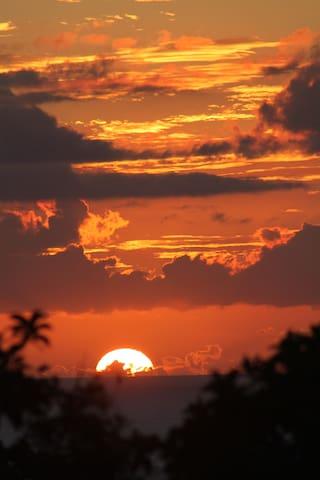 Enjoy our sunset deck