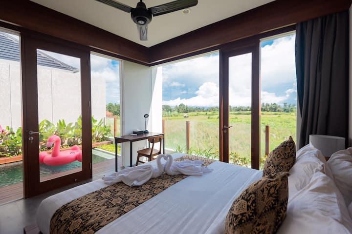 Romantic 2 BR Private Villa in Ubud