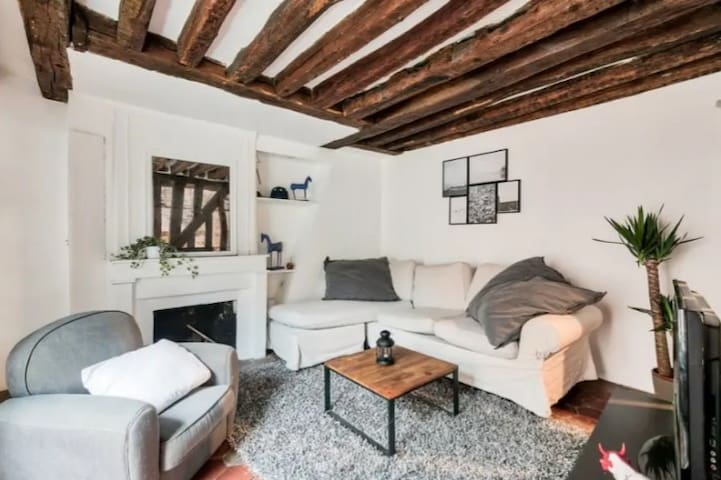 Ancient apartment in heart of Bastille