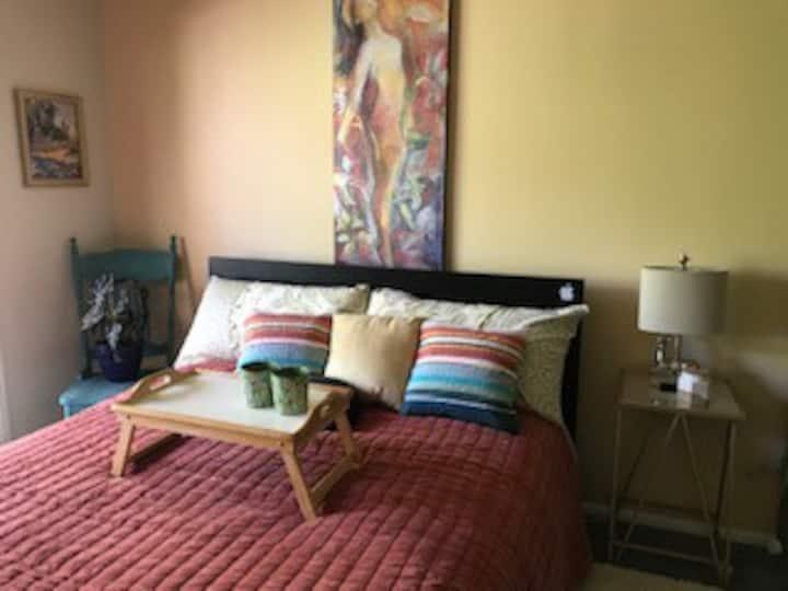 Cassatt Creativity Room at Radiance Retreat