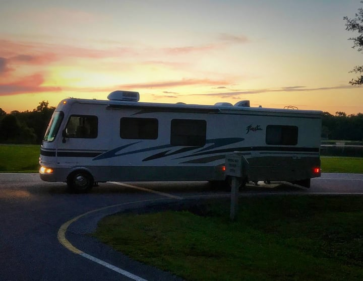 Retro RV Glamping Experience in the Lowcountry