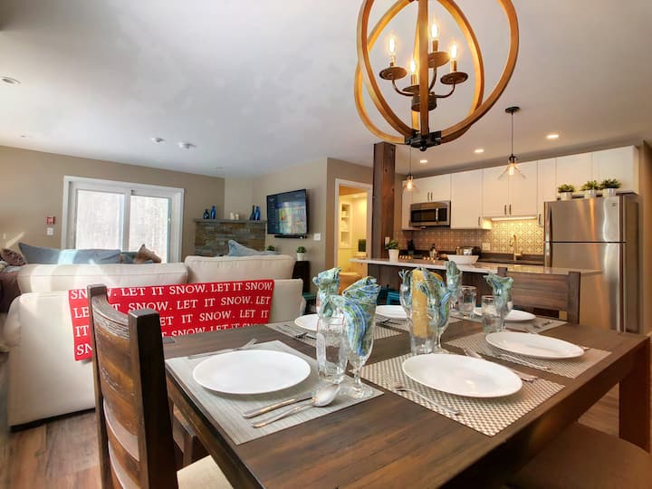 The Farmhouse at Killington: Modern, New 2RM Condo