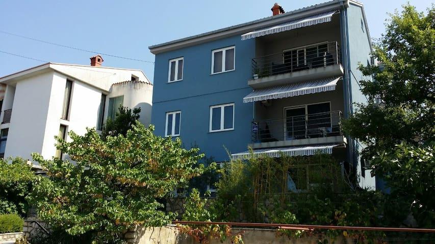 "Apartmani Car ""BLUE"" - Dramalj/Crikvenica - Dramalj - Apartamento"