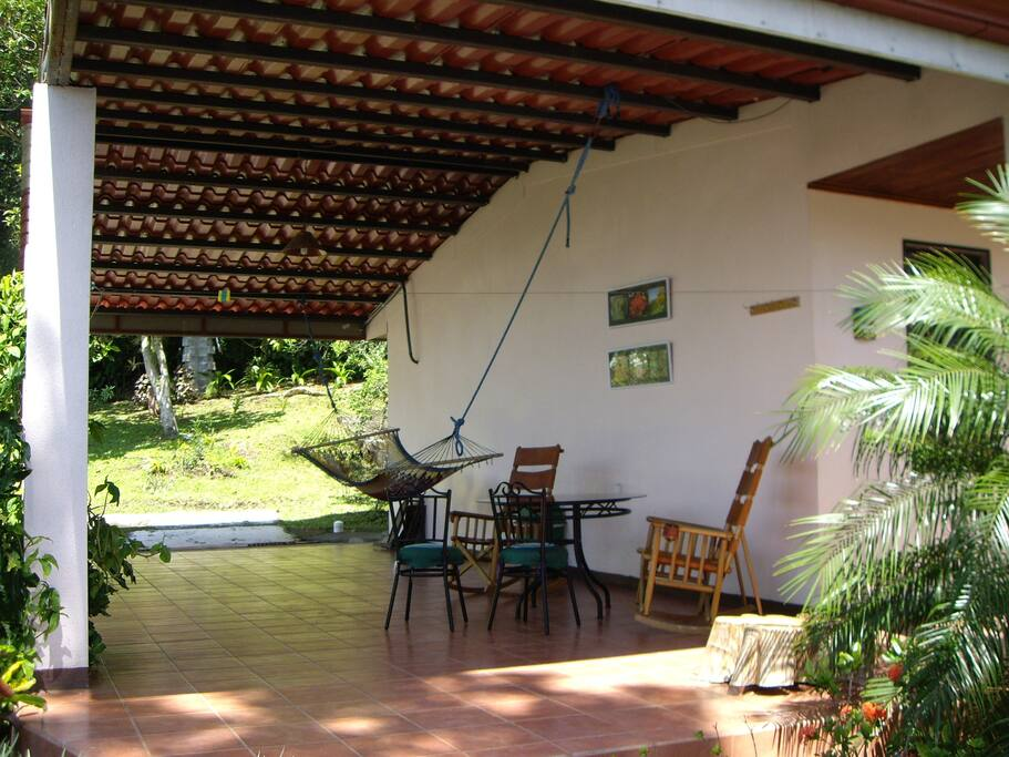 Large Roofed Patio