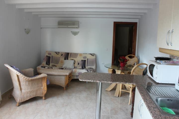 Apartamento 30b a 50m de la cala El Mallorquí