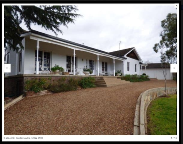 The Bellevue Hill of Cootamundra - Cootamundra - Bed & Breakfast