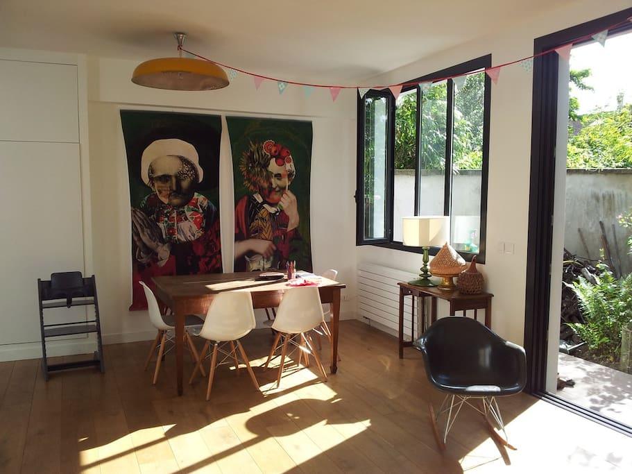 Maison d 39 architecte montreuil maisons louer for Architecte ile de france