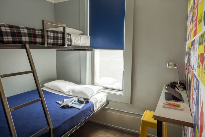 Private Room with Private Bath in Wicker Hotel