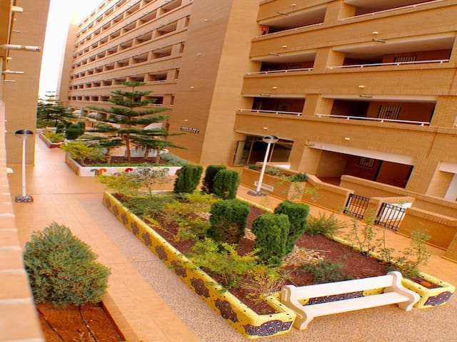 APARTAMENTO EN MARINA CON PISCINA 34 - Oropesa - Apartemen