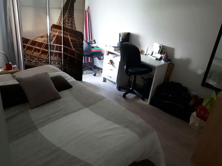 chambre 10m²
