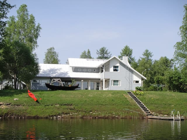 Homestay next to the Iijoki river, Pudasjärvi