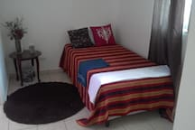 Bedroom with single bed