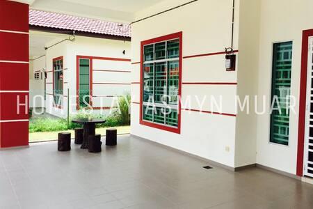 Homestay Asmyn Muar Johor - Muar - บ้าน