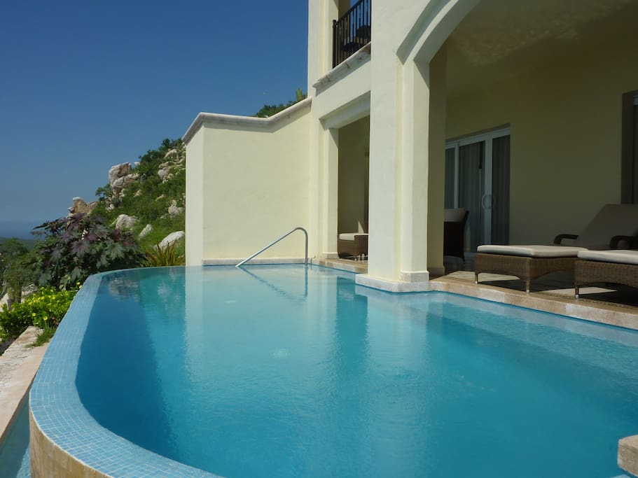 Lower Level Pool and Terrace